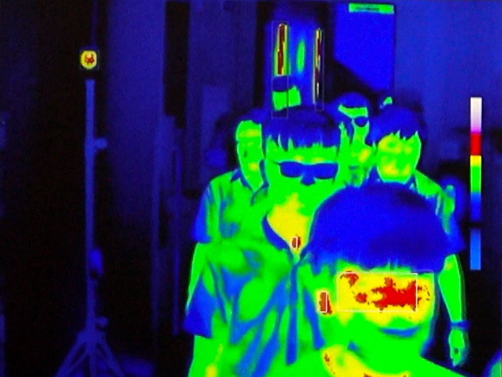 Fever Scanner detection on thermal screen